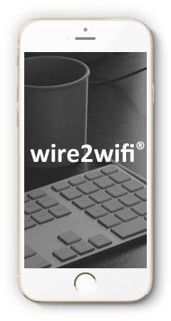 wire2wifi Monitoring APP